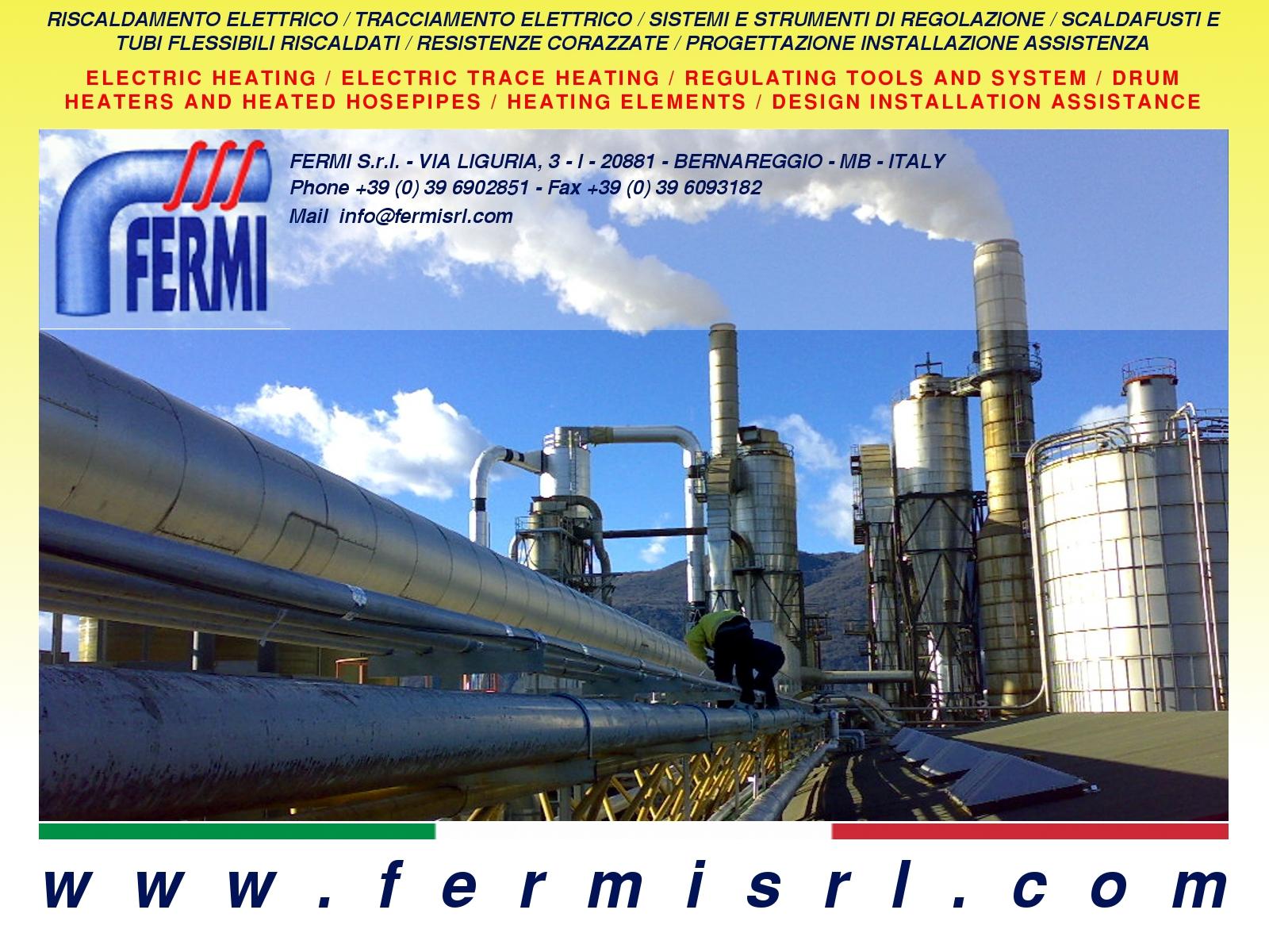 Contatti / Contact - fermisrl.com