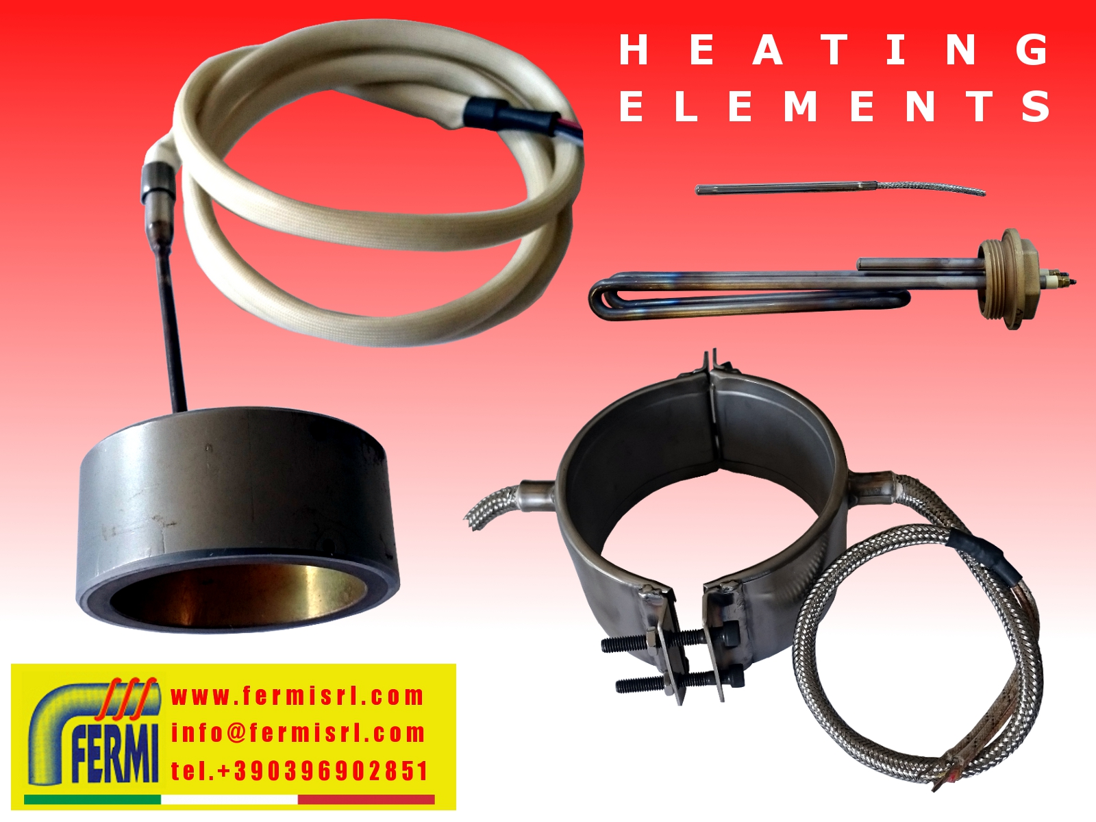 HEATING ELEMENTS / RESISTENZE CORAZZATE